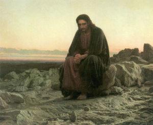 kramskoj-nikolajewitsch-iwan-christus-in-der-wueste-790045